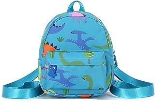 Mochila para Niños Infantil Guarderia Mochila Escolar, Anti Perdió Dinosaurio Mochila con Correa de Arnés de Seguridad