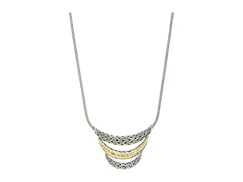 John Hardy Classic Chain Arch Hammered Small Bib Necklace