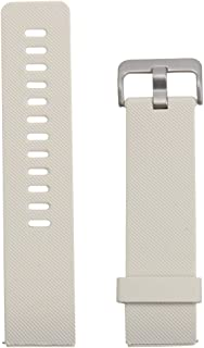 HAWEEL Replacement Bands Sports Wristbands Straps, for Fitbit Blaze Watch Oblique Texture Silicone Watchband, Large Size, Length: 17-20cm(Black)