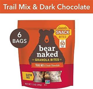 Bear Naked Trail Mix & Dark Chocolate Granola Bites -...
