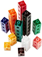 hand2mind-5812 Linking Pop Cubes, Educational Counting Math Toy (Set of 1000)
