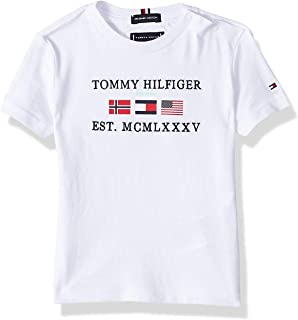 Tommy Hilfiger Boy's Flags Alpine Short Sleeve T-Shirt