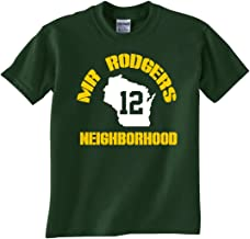 Silo Shirts FOREST GREEN Bay Mr Rodgers Neighborhood T-Shirt