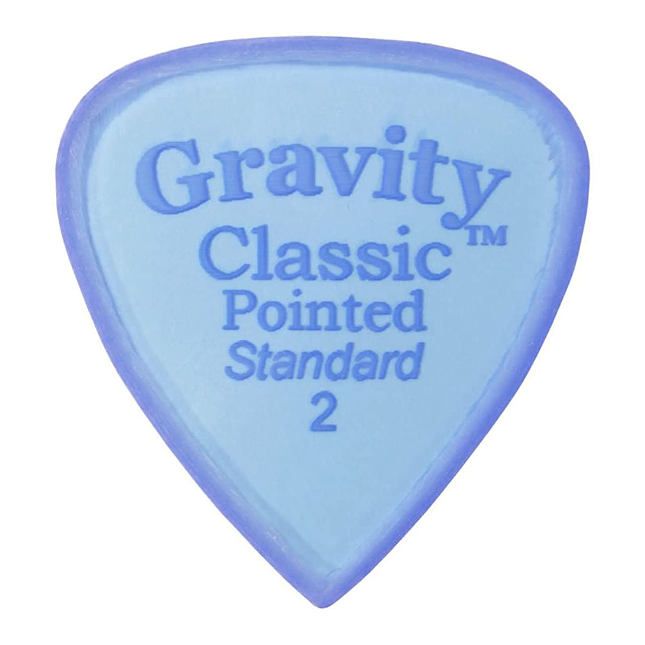 声を出してスカープ物理的にGRAVITYピック(STD)グラビティーピックGCPS2M    2.0