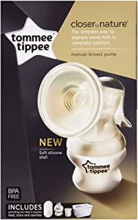 Tommee Tippee Closer To Nature Manual Breast Pump - Tt423415