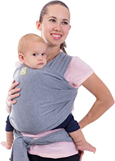 KeaBabies Baby Wrap Carrier All-In-1 Stretchy Baby Wraps - Baby Carrier - Infant Carrier - Baby Wrap - Hands Free Babies C...
