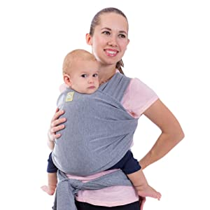 Baby Wrap Carrier All-in-1 Stretchy Baby Carrier