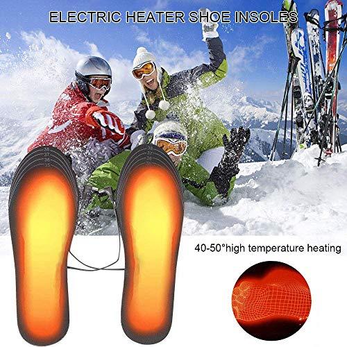 Hospaop Semelle Chauffante, Semelle Thermique, USB Semelles chauffantes, Chauffe Pied, pour d'hiver,...