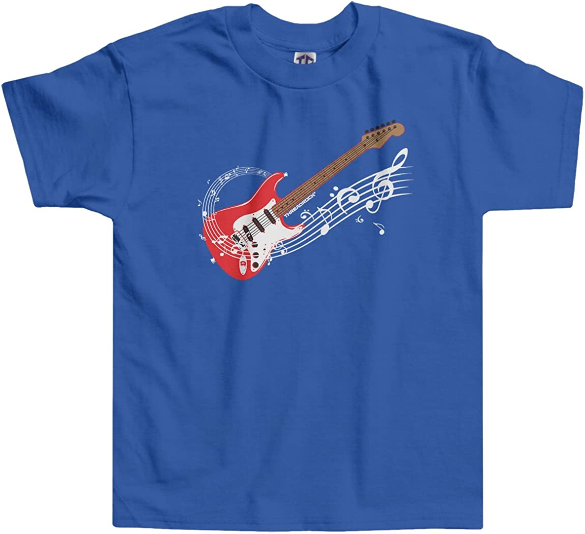 Threadrock Little Boys' Electric Guitar Toddler T-Shirt