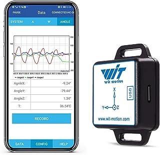 [Bluetooth Accelerometer+Inclinometer] BWT61CL MPU6050 Högprecision 6-axlig gyroskop+vinkel (XY 0,05° noggrannhet)+Acceler...