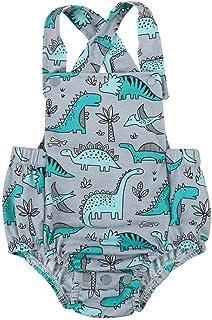 Ropa Bebe Niña Verano 2020 SHOBDW Unisex Mono Bebé Peleles para Recien Nacido Dinosaurio Fotografía Prop Espalda Abierta Conjuntos Bebé Niño