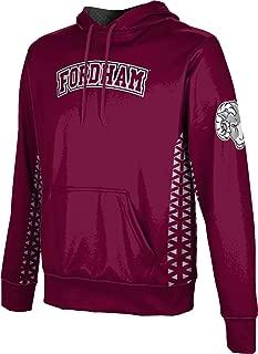 ProSphere Fordham University Men's Pullover Hoodie, School Spirit Sweatshirt (Geo)