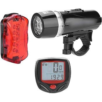 VGEBY1 Juego de Luces para Bicicleta, luz Delantera para Bicicleta ...