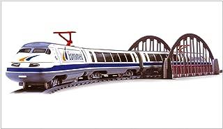 ONOGAL Tren Electrico Talgo Euromed Metalico Lineas Renfe con Puente y Desvios 780