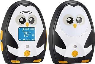 TimeFlys Digital Audio Baby Monitor Mustang QQ, Long Range up to 1000 ft, Vibration, Temperature Monitoring, Warning Lulla...