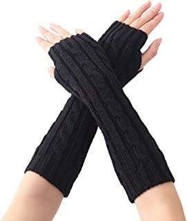 WAY.MAY Tie Dye Spiral Pattern Sun Protection Sleeve Long Arm Fingerless Gloves Outdoor Sleeve