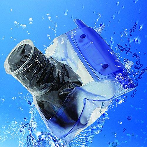Funda impermeable para cámara réflex digital y cámara submarina, bolsa seca para Canon