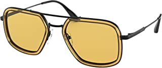 Prada - Gafas de Sol CONCEPTUAL PR 57XS ORANGE/YELLOW 54/20/140 hombre