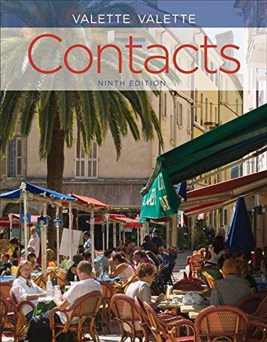 SAM Audio Program for Valette/Valette's Contacts: Langue et culture françaises, 9th