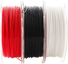 3D Printer PLA Filament Bundle, 1.75mm+/- 0.03mm, Widely Compatible, 3 Spools Pack, 1.1 lbs/Spool, Total 3.3 lbs, with One 3D Print Remove Or Stick Tool (Pack of 4) by Mika3D