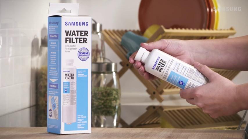 SAMSUNG HAF-CIN Refrigerator Water Filter, 2 Pack, White, 2 Count
