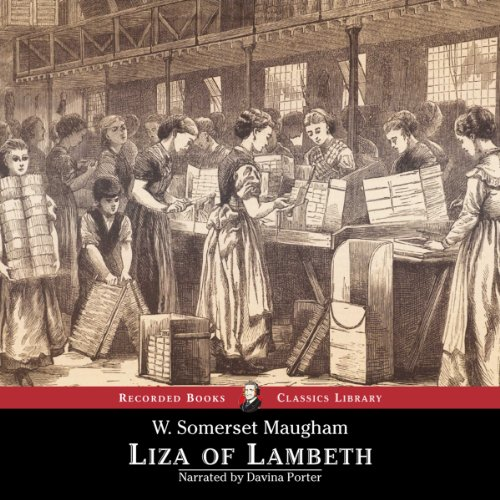 Liza of Lambeth audiobook cover art