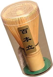 【ノーブランド品】竹製 茶筌 抹茶 粉末 泡立て器 ツール 茶道 アクセサリー 75-80