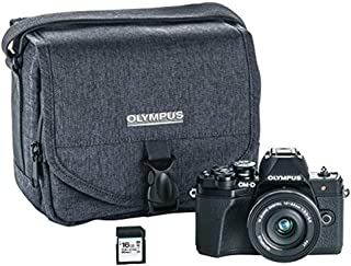 Olympus OM-D E-M10 Mark III Mirrorless Micro Four Thirds Digital Camera with 14-42mm EZ Lens (Black)
