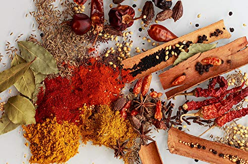 10 x 25g Organic Fresh Spice Kit Cooking Whole and Ground Herbs and Spice Mix