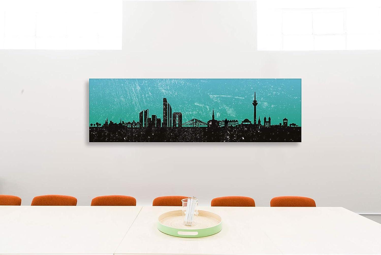 Leinwandbild Kunst-Druck 100x50 Bilder Düsseldorf