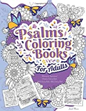 Psalms Coloring Books For Adults: Relaxing & Inspirational Christian Coloring Books Adult Coloring Books, Bible Coloring Book (Bible Verse Coloring Books For Adults)