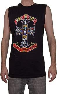 Calhoun Guns N Roses Appetite for Destruction Mens Sleeveless Shirt