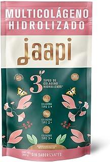 Colágeno Hidrolizado en Polvo |3 tipos de Colágeno en 1 | JAAPI 30 Porciones |Usalo con Bebidas | Colageno Tipo 1 2 y 3...