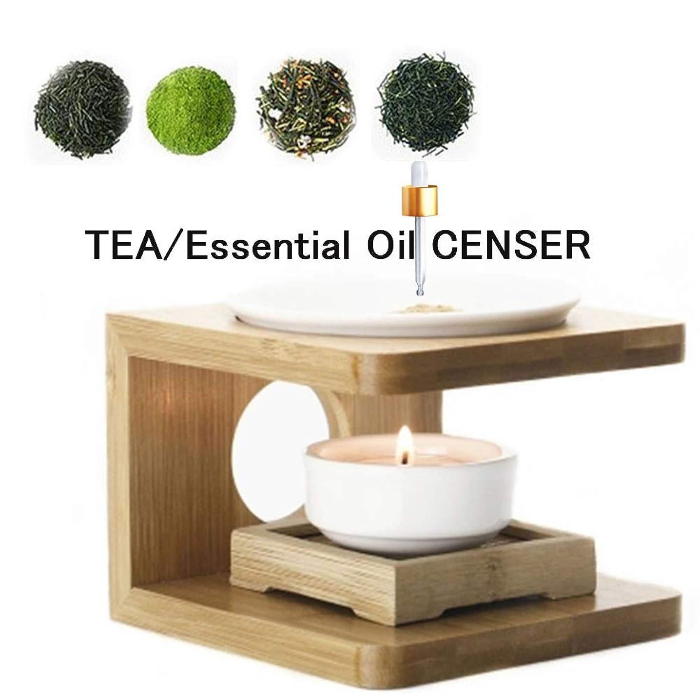 ZEINSINN Tea Burner Essential Oil Aroma Light Coffee Aroma Office Yoga Meditation spa Supplies Aromatherapy Burner Set Candle Warmers Porcelain Decoration