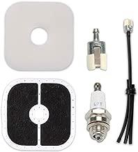 Kaymon A226000350 Air Filter Fuel Line Tune Up Kit for Echo Trimmer HCA-266 PAS-266 PE-266 PPT-266 SHC-266 SRM-266 SRM-280 PE-280 PB-251 PB-255 PB-265 A226000470 A226000471 A226000472