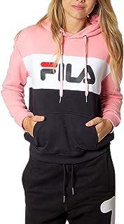 Lori Hoody Sweatshirt Ladies Black Pink