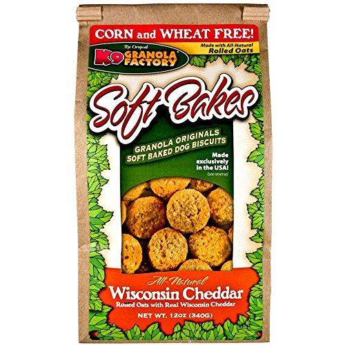 K9 Granola Factory Soft Bakes Wisconsin Cheddar, 12Oz