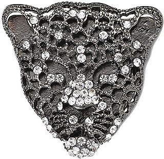 Cheaonglove Spille Spille Personalizzate Spilla con Pietre preziose Accessori da Uomo Spilla Tigre Spilla da Cappotto per ...
