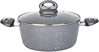 Re.cook 5 QT Nonstick Stock Pot with Lid, Soup Pot with Granite Stone Coating, Induction Stew Pot