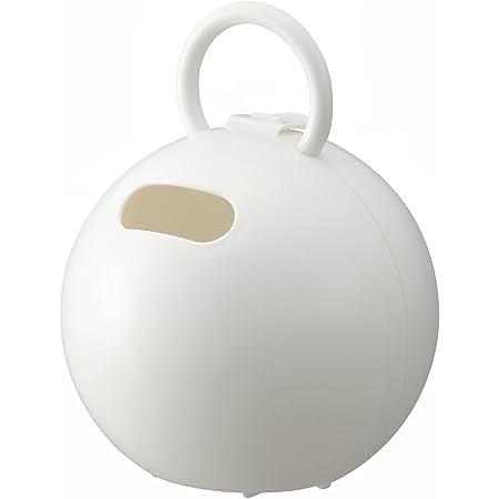 ライクイット(like-it)収納ケースポイッとボール幅16.3x奥16.3x高20.8cmホワイト日本製PRP-03L