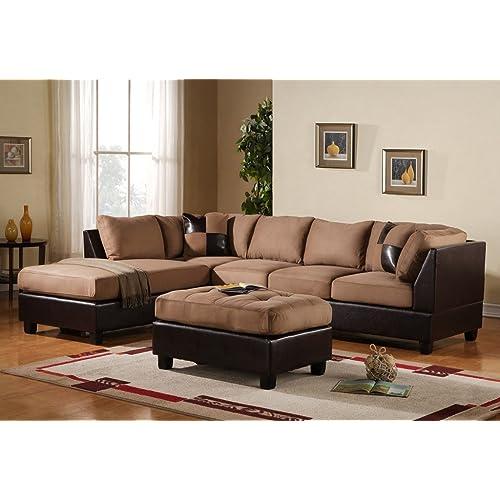 U Shaped Sectional Sofa Amazon Com