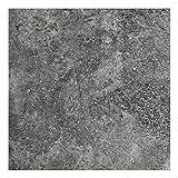 Sol PVC Best - motif Granit Noir Argenté (2m x 4m)