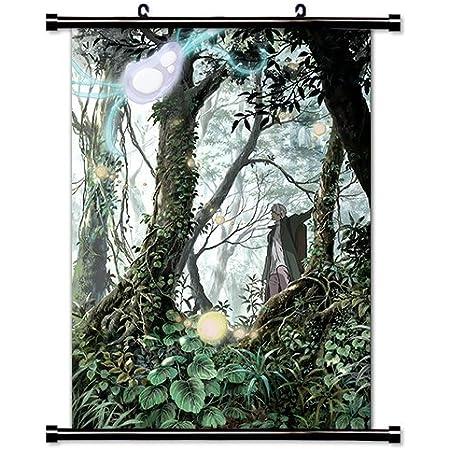 Anime Mushishi Ginko Manga Home Decor Japanese Poster Wall Scroll New 018