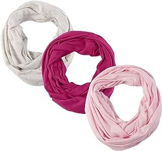 Toddler Baby Girls Boys Jersey Infinity scarf, Cozy Soft, Fashion stylish