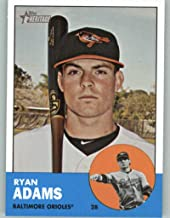 2012 Topps Heritage #488 Ryan Adams NM-MT SP Baltimore Orioles Official MLB Baseball Card