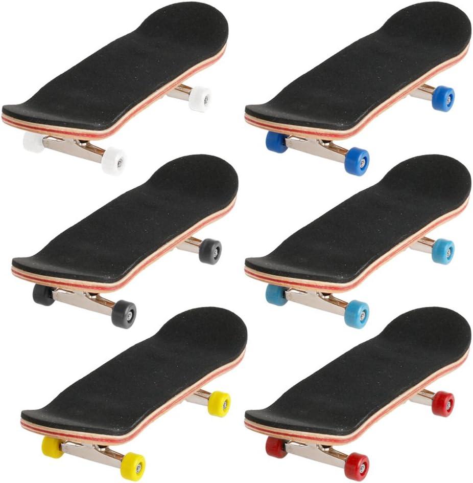 GUSENG 1SET Children Wooden Deck Fingerboard Skateboard Sport Ga