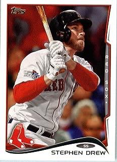 2014 Topps Baseball Card # 585 Stephen Drew - Boston Red Sox