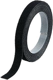 TRUSCO(トラスコ) マジックバンド結束テープ 両面 10mm×10m 黒 MKT-10100-BK