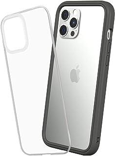 RhinoShield [iPhone 12 Pro Max] Mod NX耐衝撃ケース - 通常背面ケースとバンパーケースの使い分けが可能 - グラファイト