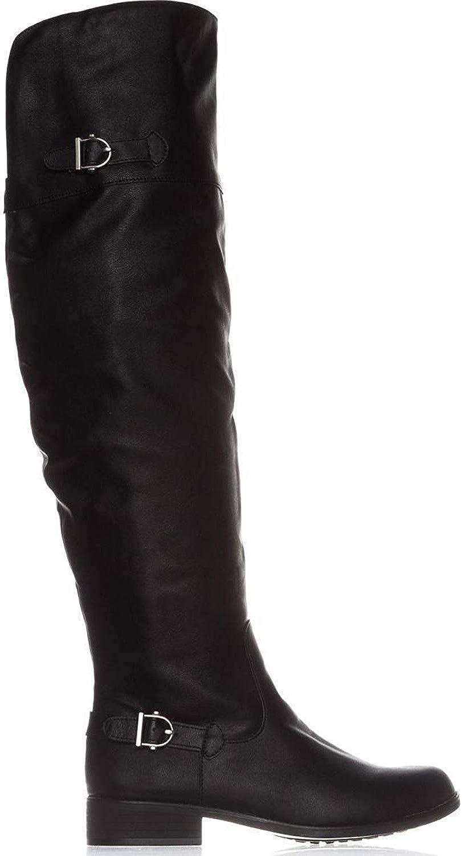 Popular overseas American Rag Mens Adarra Round Toe Over Soldering Boots Riding Knee